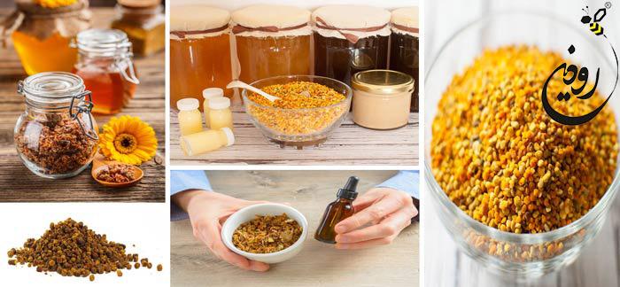 محصولات گرده گل عسل