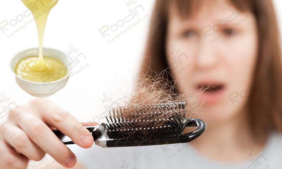 خواص ژل رویال برای ریزش مو