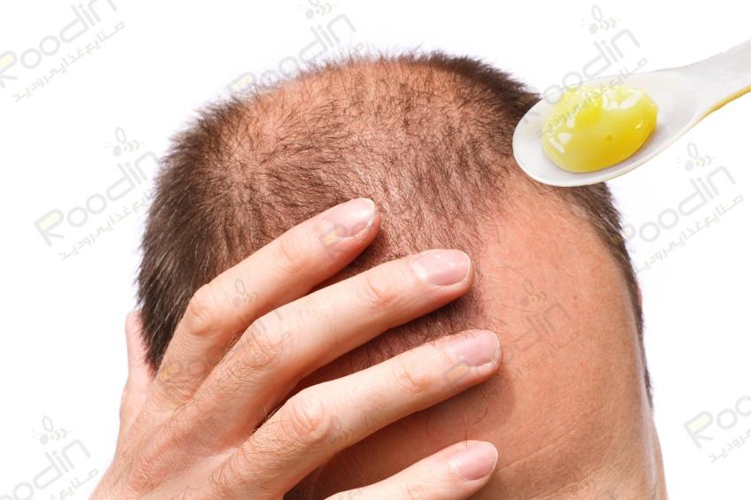 فواید ژل رویال برای مو