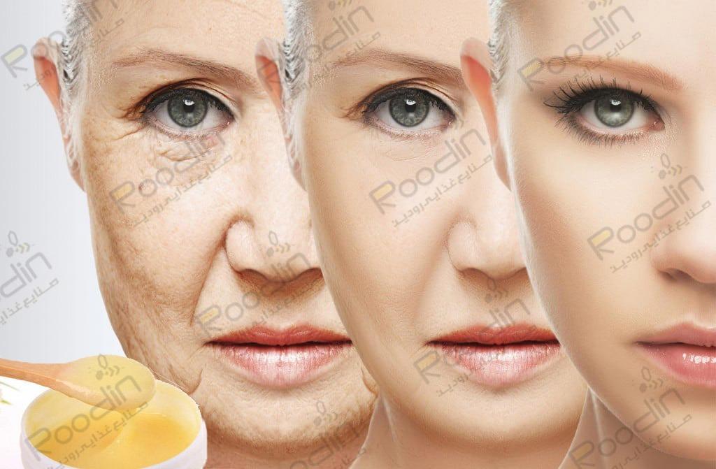 خواص ژل رویال برای پوست و مو