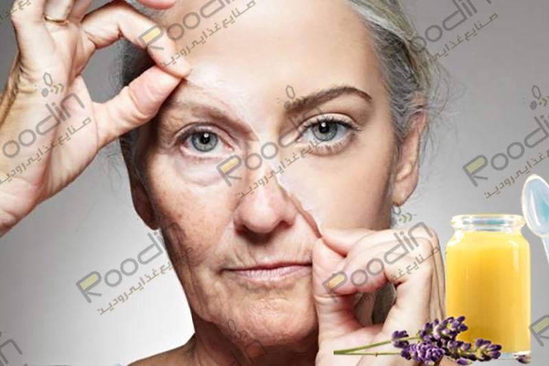 تاثیر ژل رویال بر پوست صورت