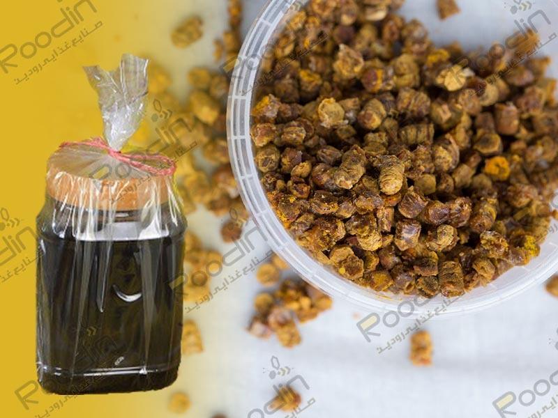 عسل چهل گیاه گرده دار