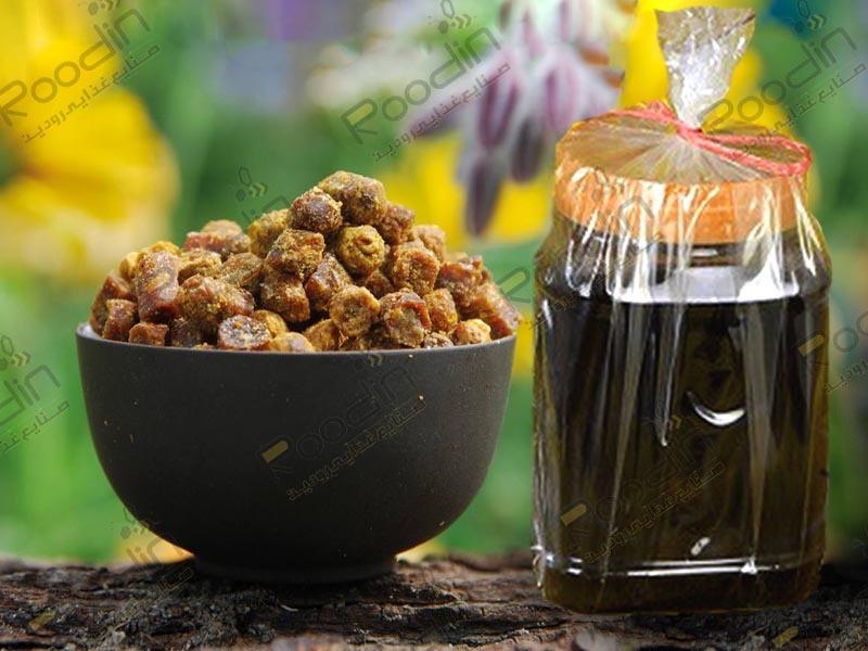 خواص عسل چهل گیاه گرده دار