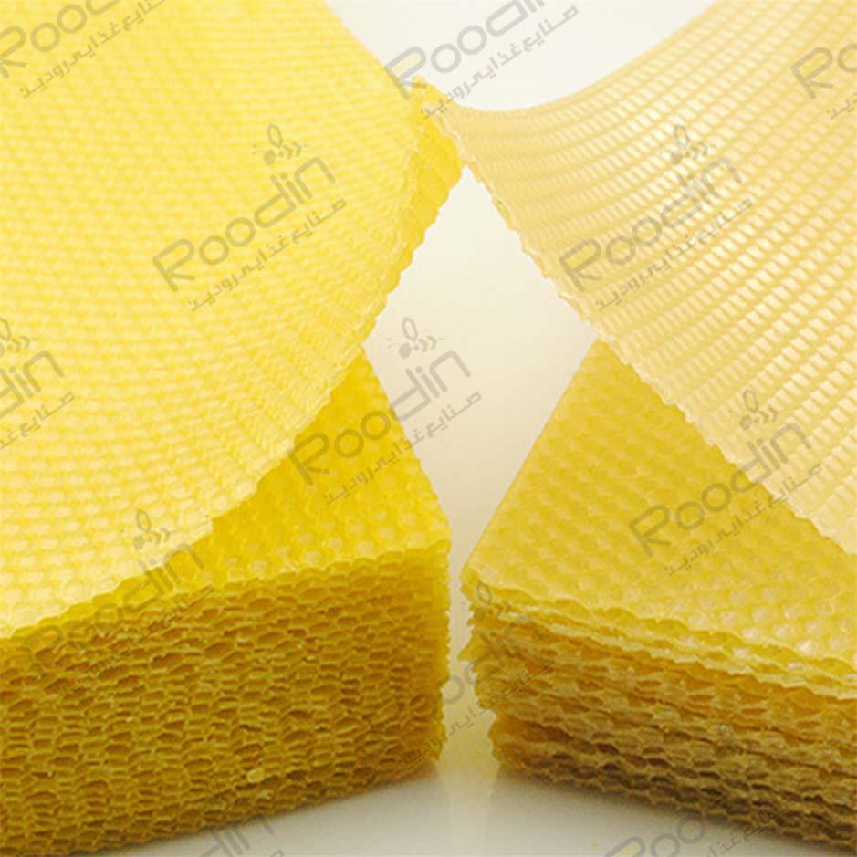 قیمت موم ورقه ای عسل