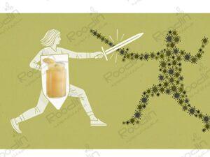تاثیر ژل رویال بر سیستم ایمنی بدن