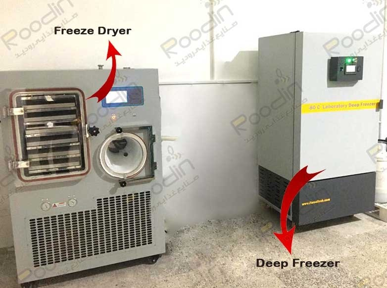 دستگاه freeze dryer